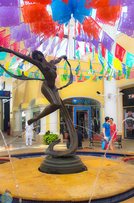 Centro Comercial La Isla, Cancun- Cancun guia vegana- The Vegan Hopper blog