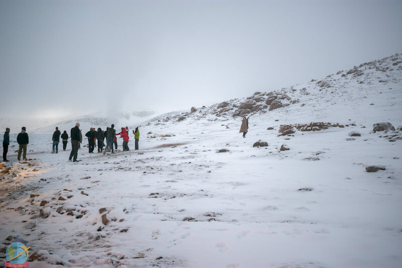 Nieve, Bolivia