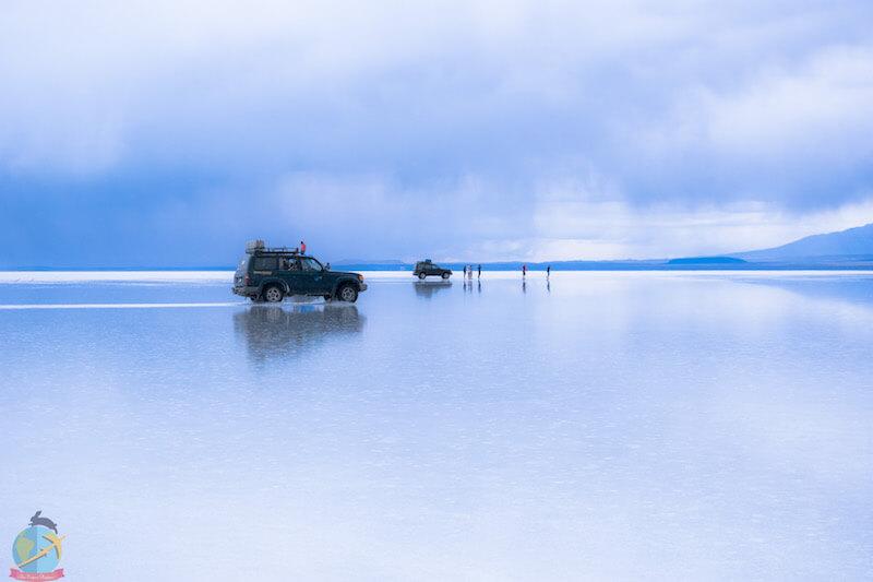 Salar de Uyuni- Espejos de agua