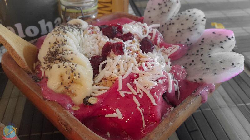 Smoothie Bowl-Aloha Raw Bar-Playa del Carmen, Vegan travel guide