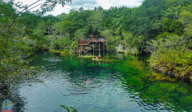 Cenote el Eden-Playa del Carmen, Guia vegana de viajes